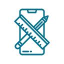 Mobile Designer Icon